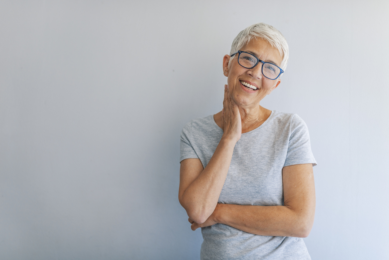 Effects of aging on the teeth.